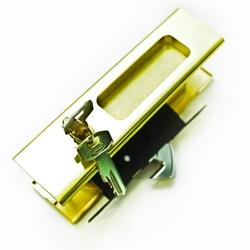 Замок купе ключ 111 С SB (матовое золото)