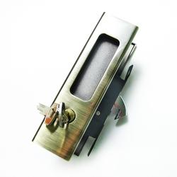 Замок купе ключ 222 C AB (бронза)