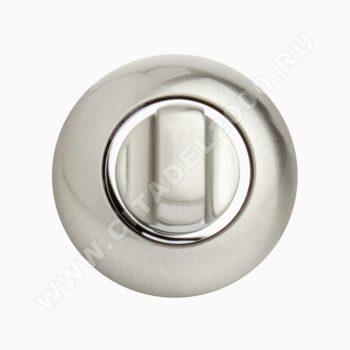 Завертка сантехническая OL HH (белый никель)