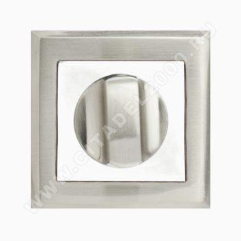 Завертка сантехническая OLS HH (белый никель)