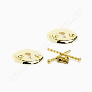 Накладка под ключ 030-16 PB (золото)
