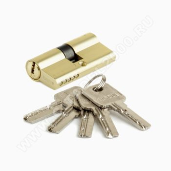 Цилиндр алюмин А60РВ (ключ/ключ, золото) TURDUS