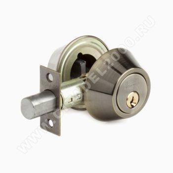 Н-М Замок врезной D2 (ст.бронза) (ключ/ключ)