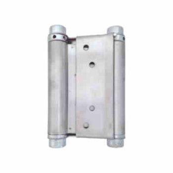 Петля пружинная (барная) М4-100-SN (100*70)  матовый никель