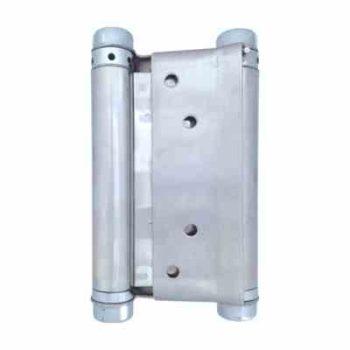 Петля пружинная (барная) М5-120-SN (120*80)  матовый никель