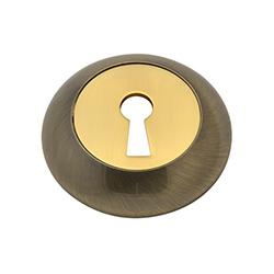 Н-М Накладка под ключ НК Пальма (застаренное серебро)