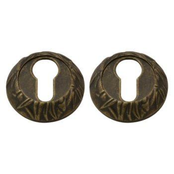 Н-М Накладка под ключ НК Пальма (застаренная бронза)