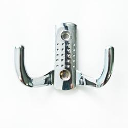 Крючок малый перфорированный 212В (хром)