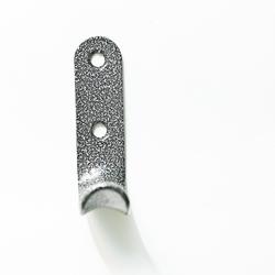 Крючок-вешалка 1-рожковый (ст.серебро) №7