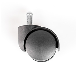 Опора мебельная колёсная на штыре (d=50 mm)