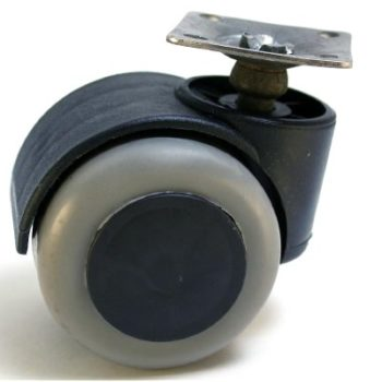 Опора колёсная D50 на площадке (резиновый ход) - 113162
