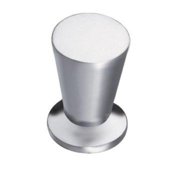 Ручка мебельная, кнопка RC002MN (матовый хром) - 113819