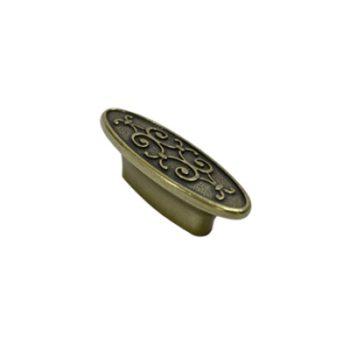 Ручка мебельная, кнопка RS412BAB 32 мм (ст.бронза) - 113479