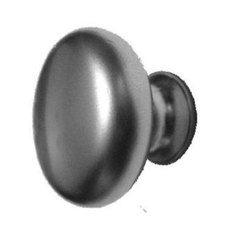 Ручка-кнопка мебельная 14 ZY (мат.хром) d=29 мм