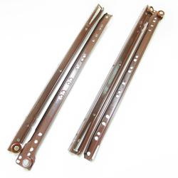 Направляющие для ящиков роликовые 400 мм (коричневый)