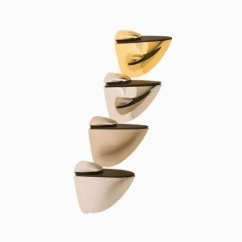 Полкодержатель Пеликан средний 50*50 PB (золото)