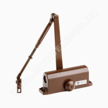 Н-М Доводчик №3S малый (80 кг) - коричневый - морозостойкий