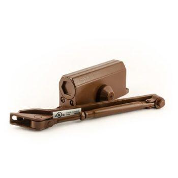 Н-М Доводчик №2s F (50кг) - коричневый - с фиксацией