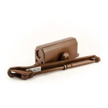 Н-М Доводчик №3s F бол (80кг) - коричневый - с фиксацией