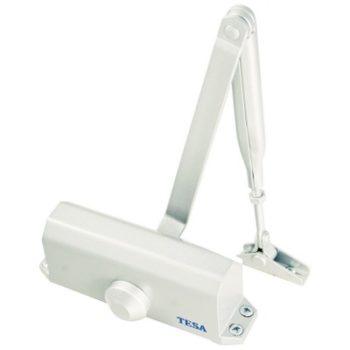 Доводчик TESA CT50023 BL (белый) от 40 до 80 кг