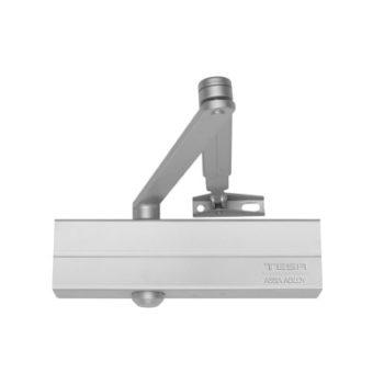Доводчик TESA CT250034 PL (серебро) от 40 до 80 кг противопожарный
